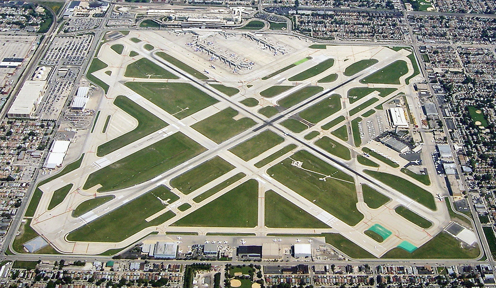 Midway airport airfield