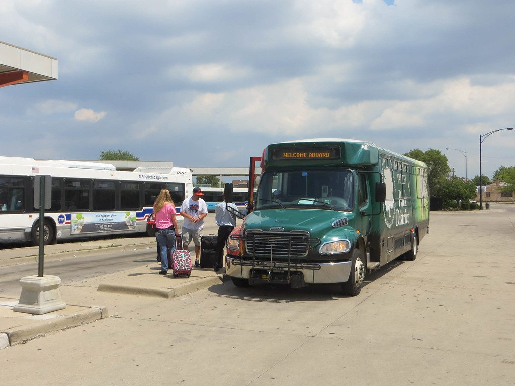 Midway airport shuttles