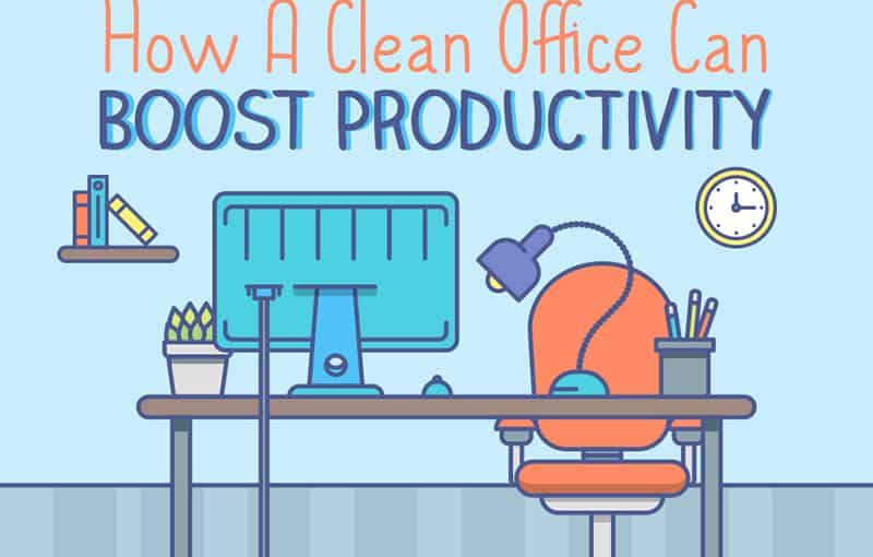 How a Clean Office Can Boost Productivity?